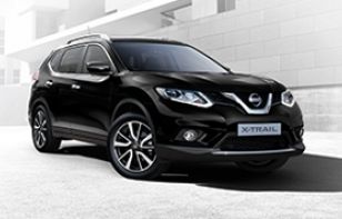 5 seater X-Trail starting from only €29,995
